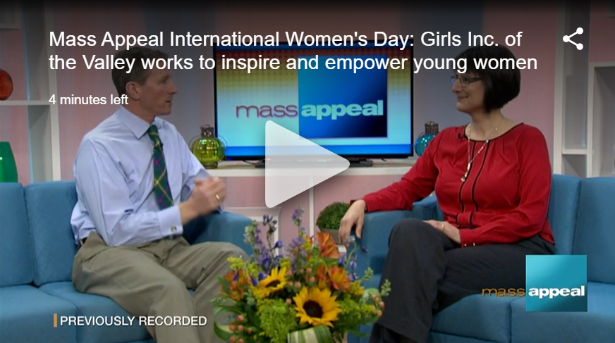Girls Inc. featured on WWLP's International Women's Day coverage